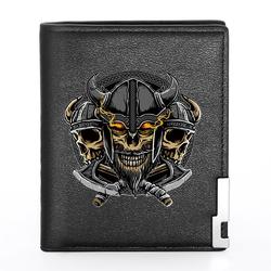 Кошелёк Vikings (skulls)