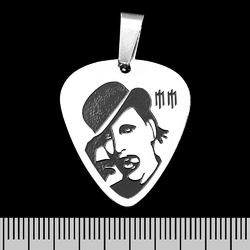 Кулон Marilyn Manson-1 (ptsb-058) медиатор