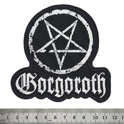 Нашивка Gorgoroth (pentagram)