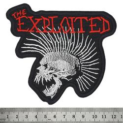 "Нашивка The Exploited ""Beat The Bastards"" фигурная"
