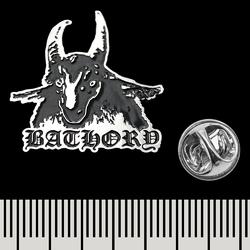 Пин (значок) фигурный Bathory (goat)