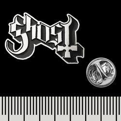 Пин (значок) фигурный Ghost (logo)