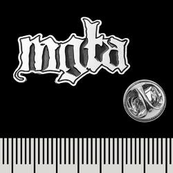 Пин (значок) фигурный Mgla (logo)