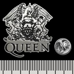 Пин (значок) фигурный Queen