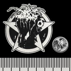 "Пин (значок) фигурный Darkthrone ""Transilvanian Hunger"""