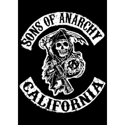 Плакат Sons of Anarchy (logo)