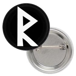 Значок Руна Raidho