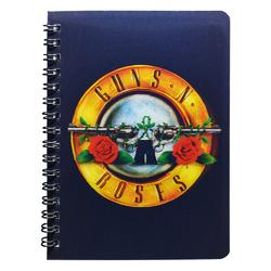 3D Блокнот Guns N' Roses (logo)