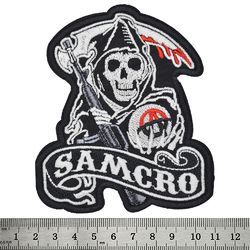 Нашивка SAMCRO (Sons Of Anarchy)