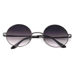 Очки солнцезащитные (SG-012) с градиентной тонировкой, черный, оправа цвет графит