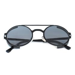 Очки солнцезащитные (SG-016) черный, утолщенная оправа цвет черный матовый