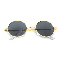 Очки солнцезащитные (SG-007) черный, оправа цвет золотой