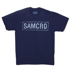 "Футболка Sons Of Anarchy ""SAMCRO"" (dark blue t-shirt)"